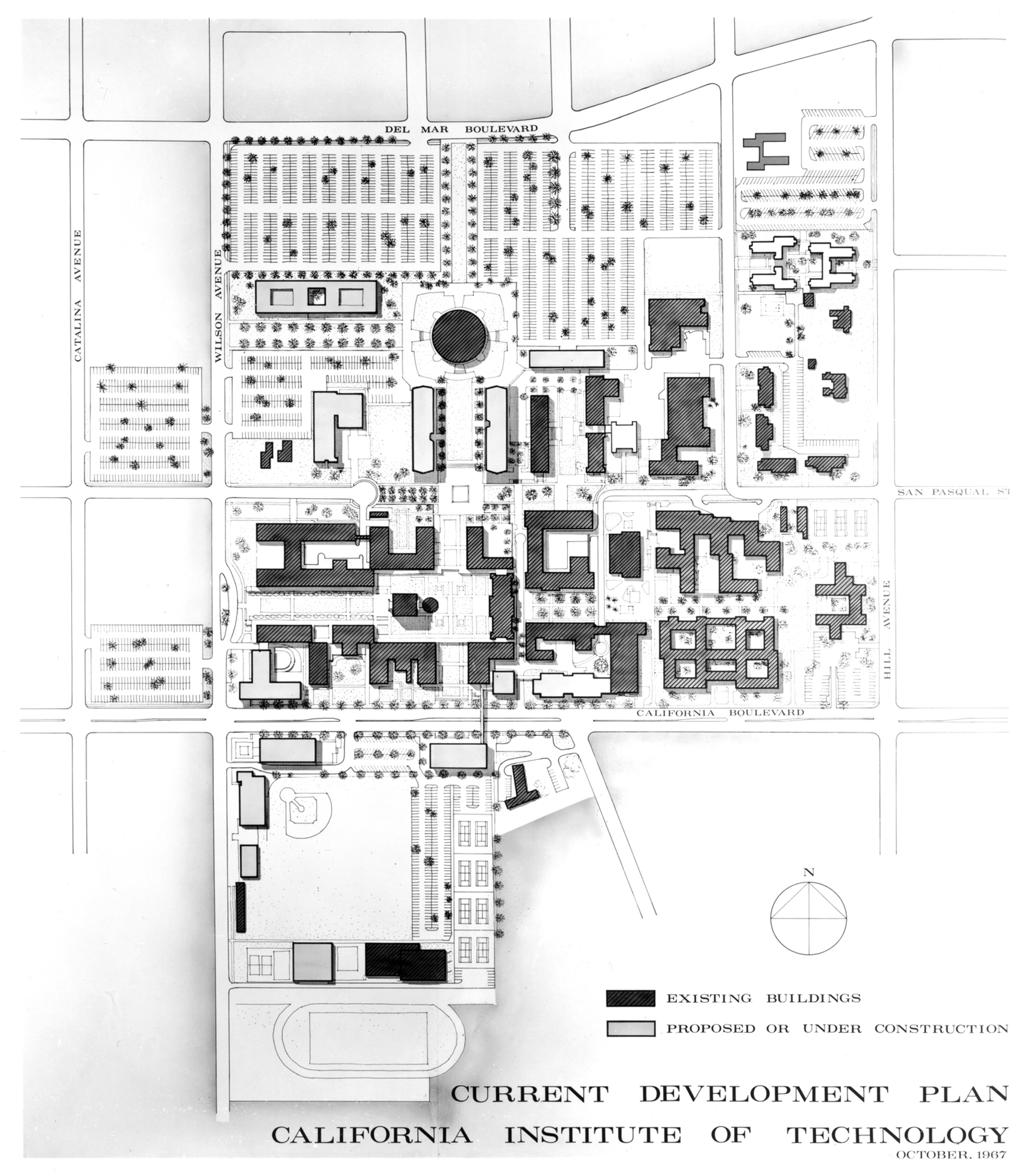 Cal Tech Campus Map.Caltech Campus Map Www Topsimages Com