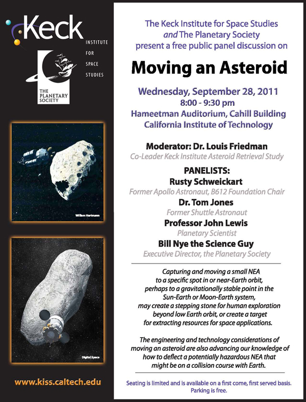Moving An Asteroid