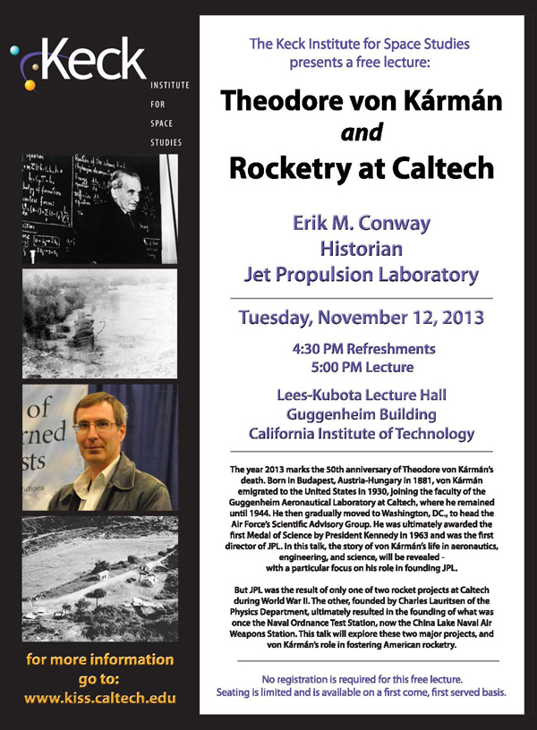 Theodore von Kármán and Rocketry at Caltech