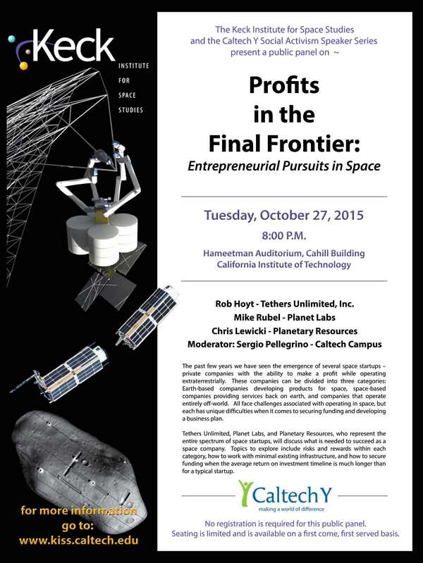 Profits in the Final Frontier: Entrepreneurial Pursuits in Space