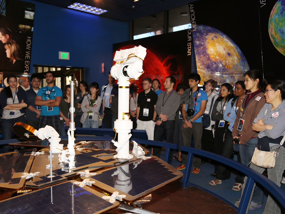 Caltech Student Day at JPL - 2013