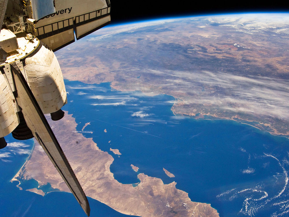 CA from space