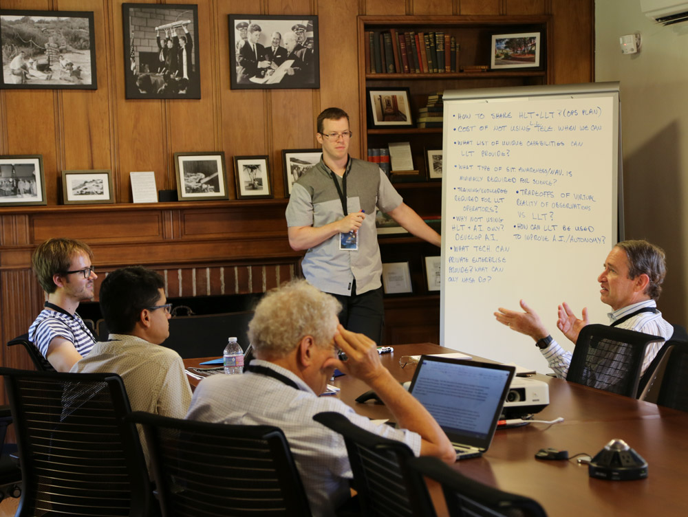 Space Science Opportunities Augmented by Exploration Telepresence Workshop